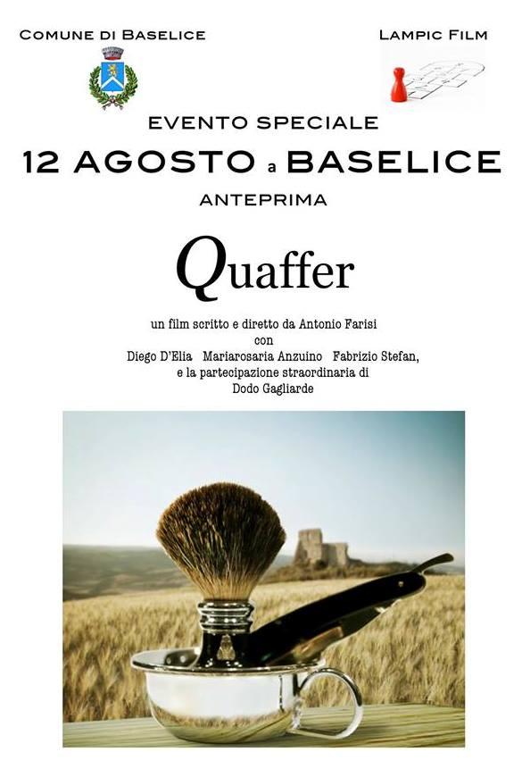 Baselice, domani proiezione in anteprima nazionale del film 'Quaffer'
