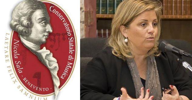 Riconoscimento di prestigio per Caterina Meglio, presidente del Conservatorio Nicola Sala