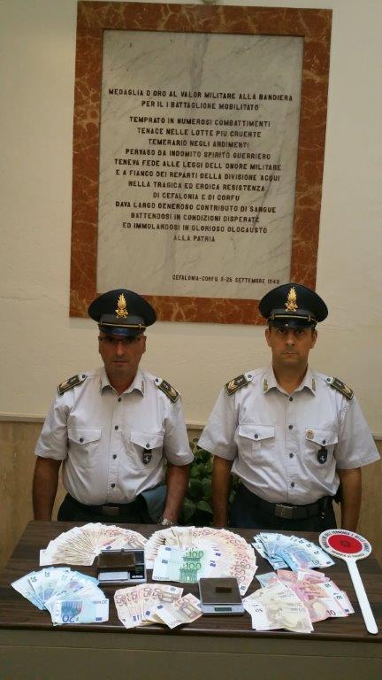 Sequestro di hashish ad opera dalle fiamme gialle di Benevento. Arrestati due responsabili
