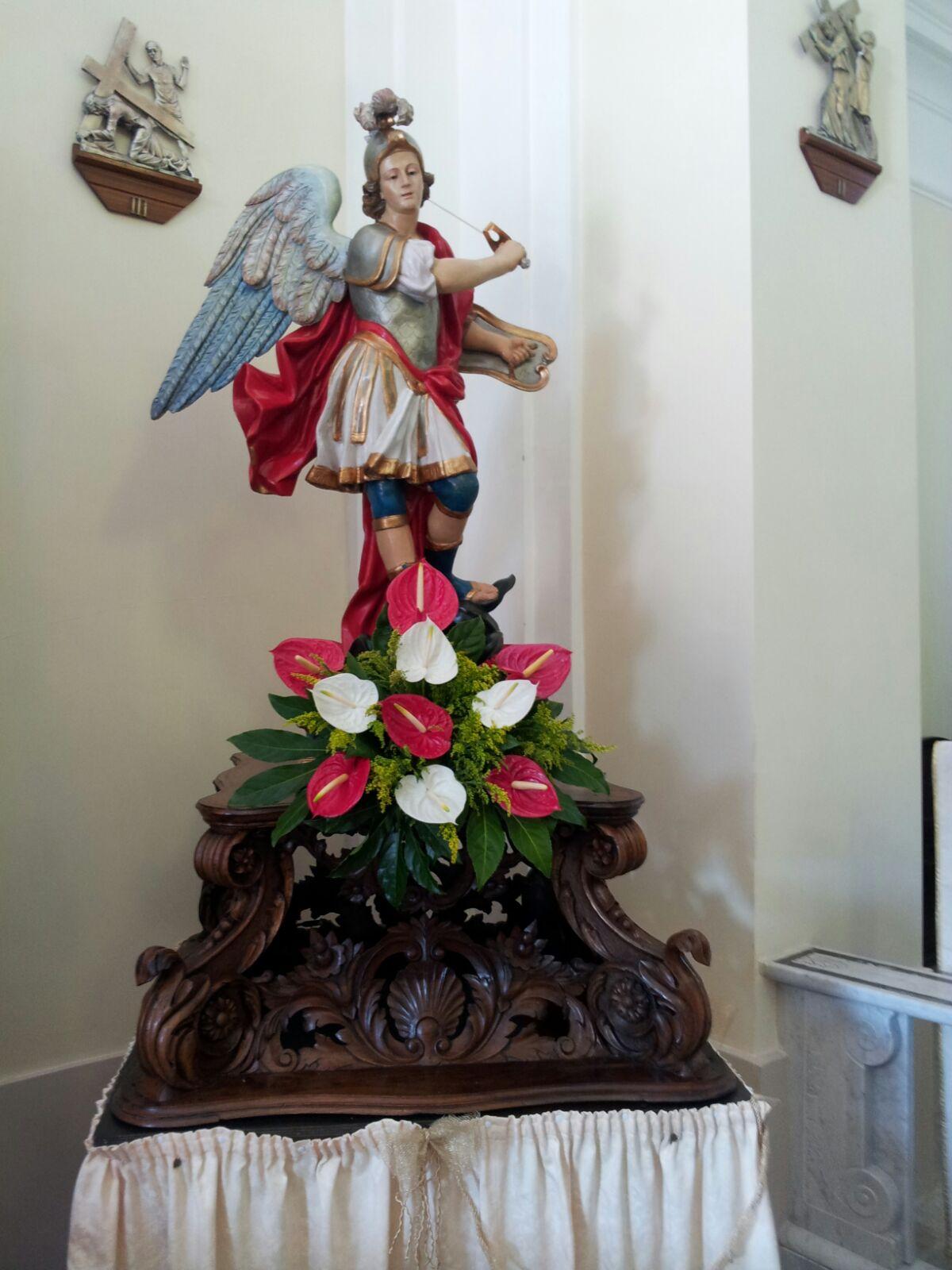 Comunità di Lentace in festa, devozione al Santo Michele Arcangelo protettore della comunità