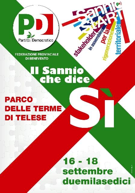 Il Ministro Delrio apre la convention del Pd a Telese Terme