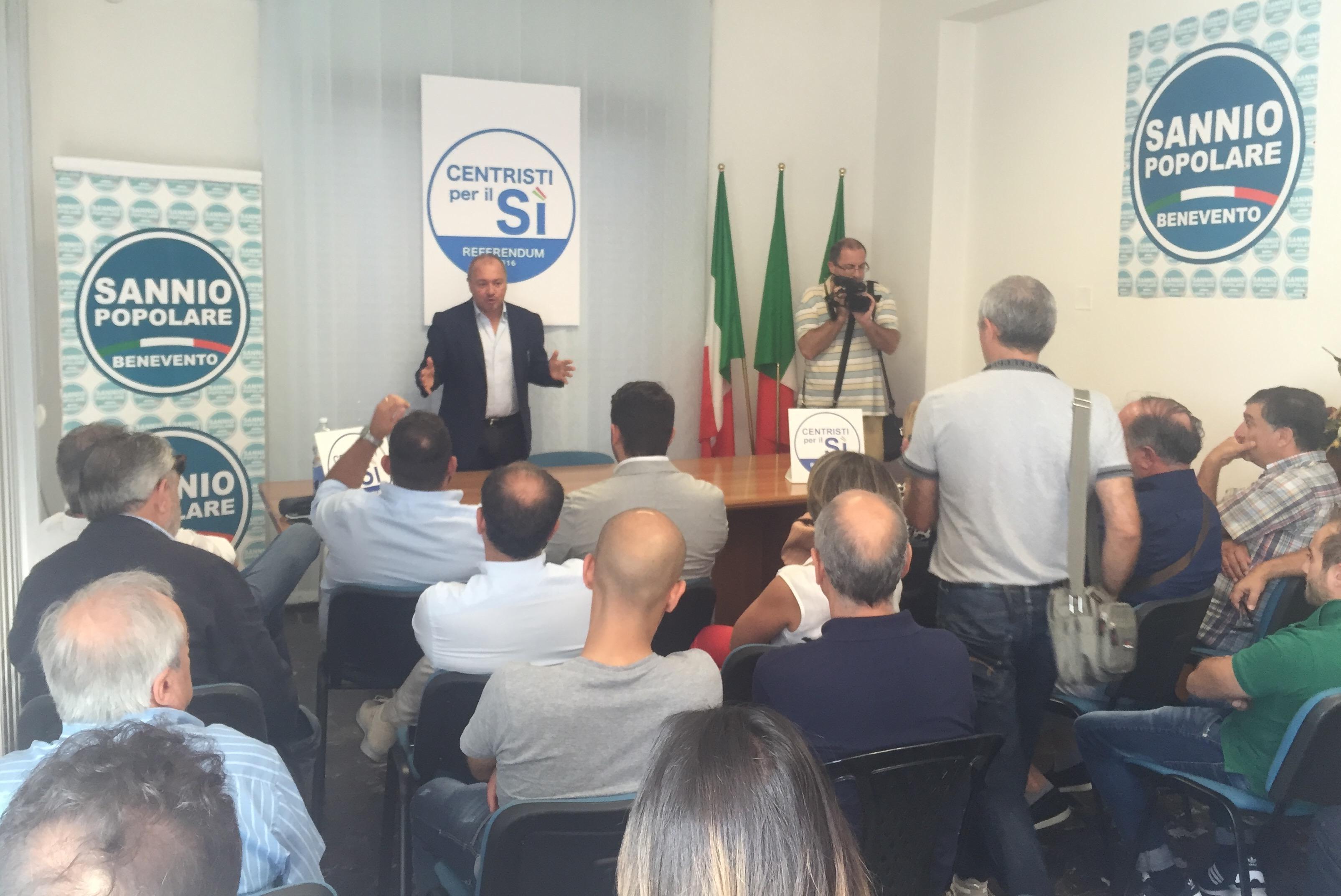 """Referendum costituzionale, Santamaria: """"Sì perché siamo persone coerenti"""""""