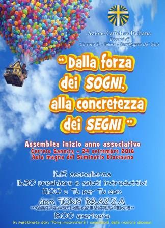 Cerreto Sannita, l'assistente nazionale Giovani don Tony Drazza all'Assemblea diocesana di Azione Cattolica