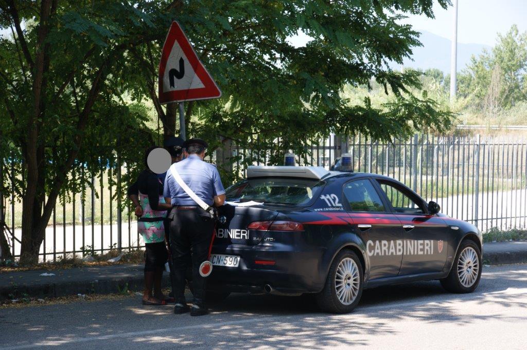 Benevento, fermate nove donne durante operazione di controllo antiprostituzione