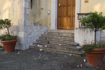 Nuovi atti vandalici a danno della Rocca dei Rettori di Benevento