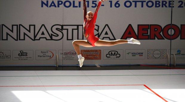 Ginnastica aerobica, bronzo per la sannita Chiara Salerno in Coppa Italia