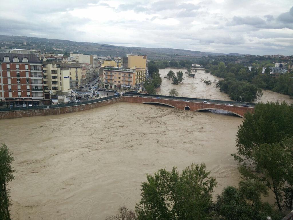 Alluvione un anno dopo, Ricci rendiconta le iniziative e le opere intraprese dalla Provincia