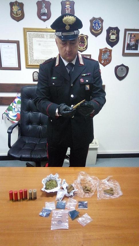Amorosi, rumeno 30enne arrestato per spaccio e detenzione di munizioni