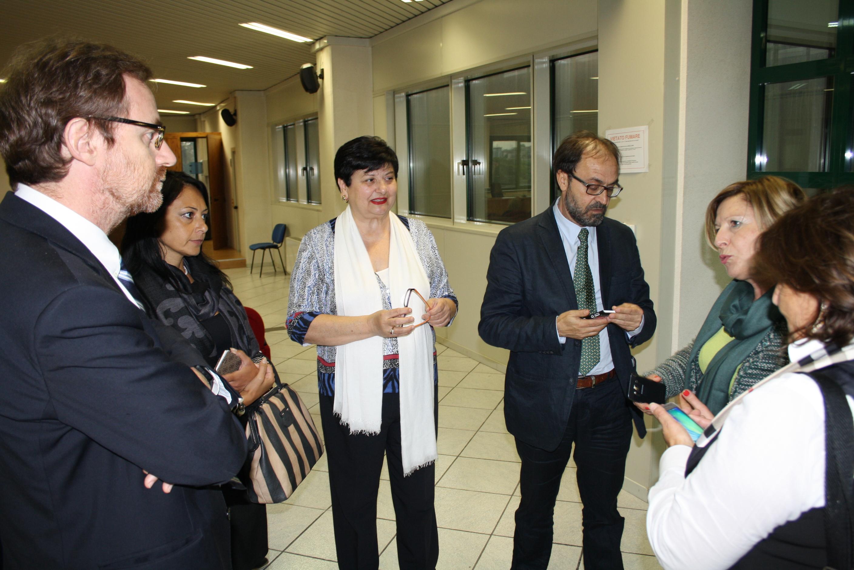 L'assessore al lavoro della Regione in visita al Centro per l'Impiego della Provincia
