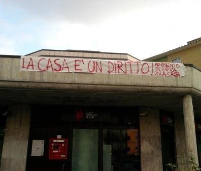 """Benevento, il 'Movimento Lotta per la Casa' scende nuovamente in piazza. """"L'emergenza abitativa non può essere dimenticata"""""""