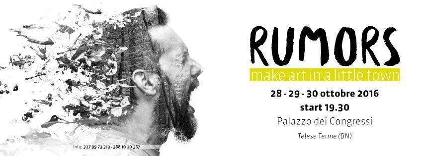 Teatro, musica, fotografia, danza, tutto in un solo festival che avrà luogo a Telese nel week end