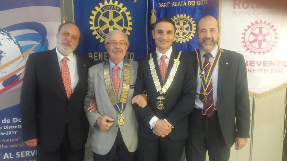'President Day' del Rotary Club a Benevento in Palazzo Paolo V