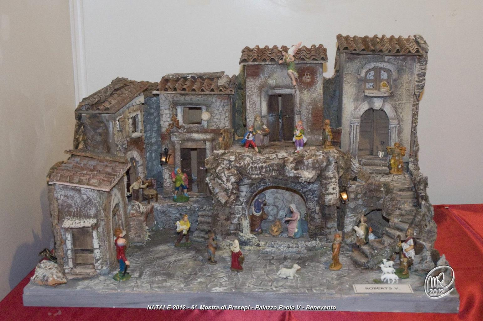 Nella Sala Mostre di Palazzo Paolo V dall'8 al 18 dicembre sarà allestita la 'Mostra dei Presepi'