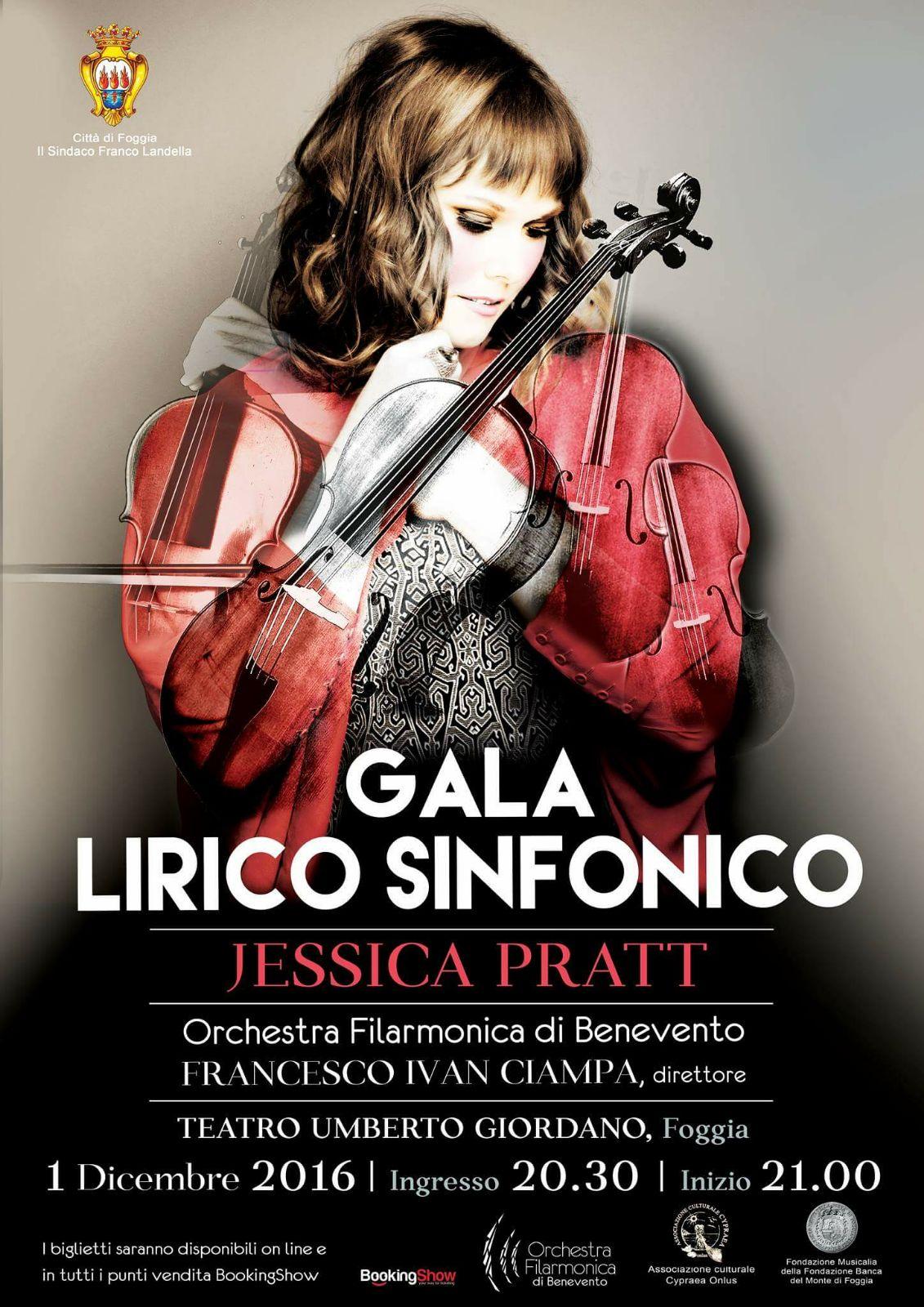 Orchestra Filarmonica di Benevento, giovedì galà con Jessica Pratt