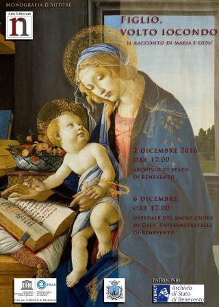 'Figlio, volto iocondo', il 2 e il 6 dicembre a Benevento appuntamento con l'arte e la poesia