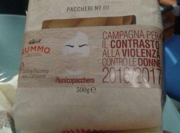 No alla violenza sulle donne: il pastuficio Rummo lancia 'L'Unico pacchero'
