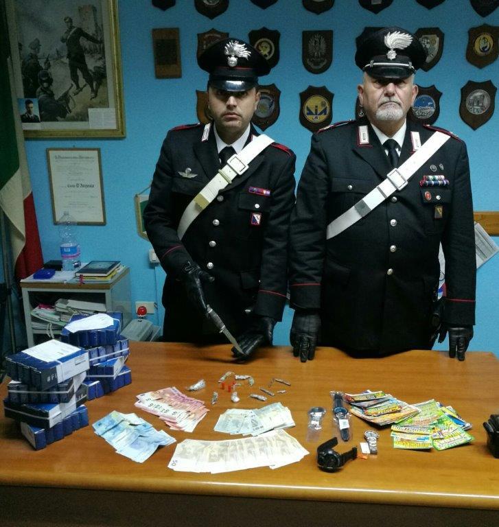 Castelpoto, arrestato postino spacciatore