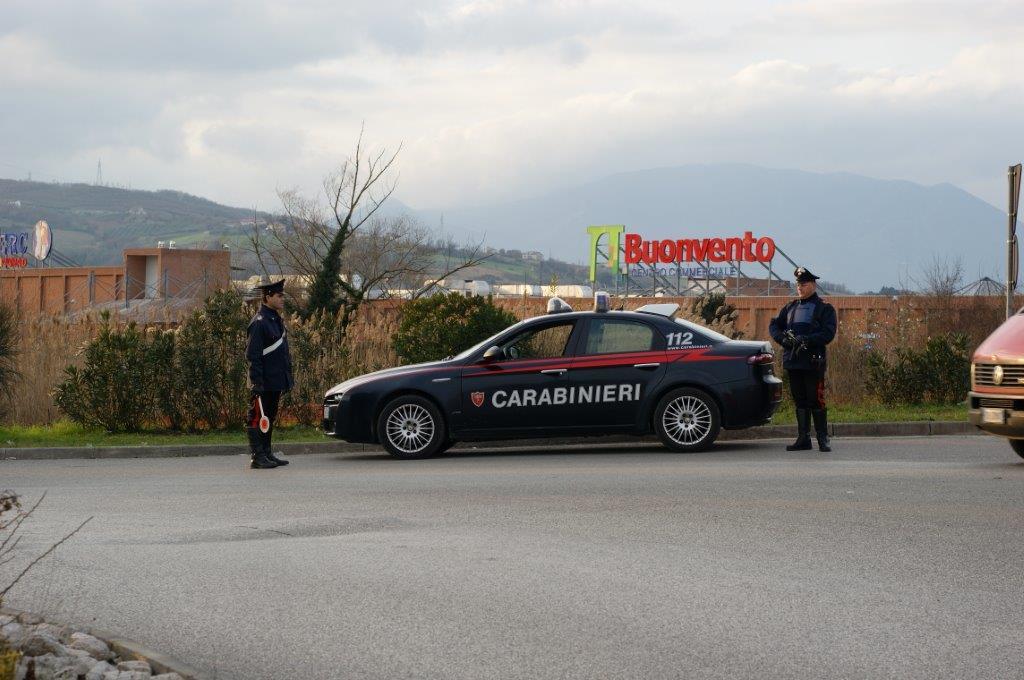 Benevento, borseggiatrice in trasferta arrestata dai carabinieri
