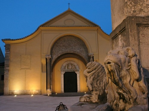 Illuminazioni artistiche sui monumenti simbolo di Benevento
