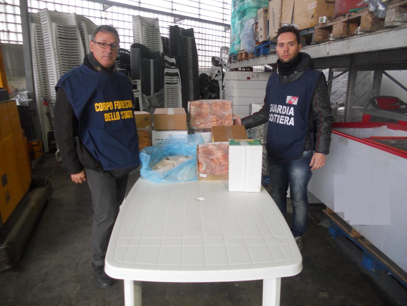 Operazione 'Clear Fish', sequestrati 400 chili di prodotti ittici