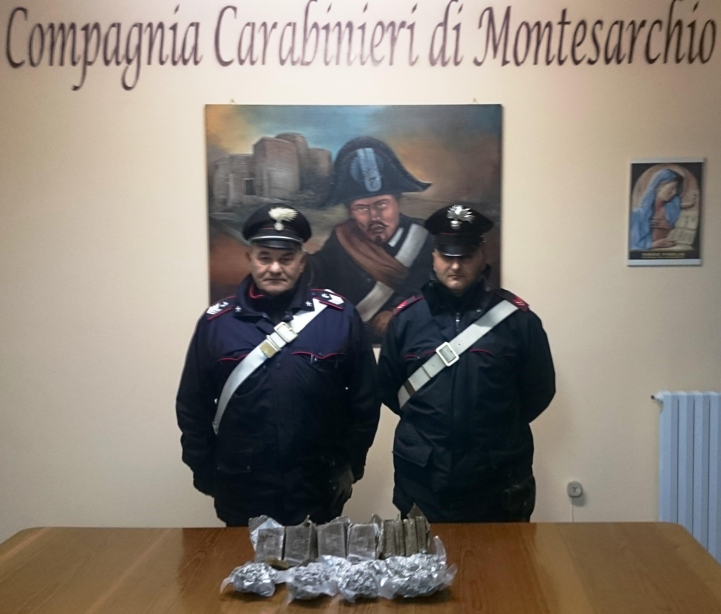 Montesarchio, arrestato corriere della droga