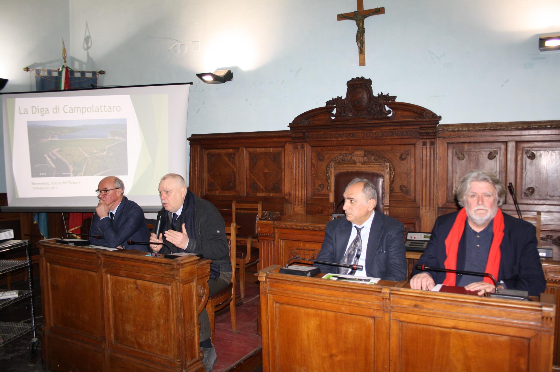 Diga di Campolattaro, il problema è l'interferenza della strada comunale Senzamici in Morcone