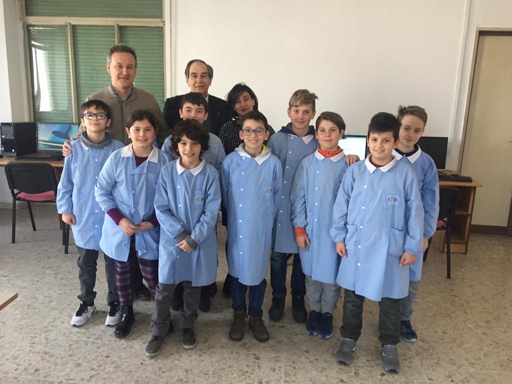 Gara Nazionale di matematica a squadre, presente la Scuola Primaria Bilingue di Benevento