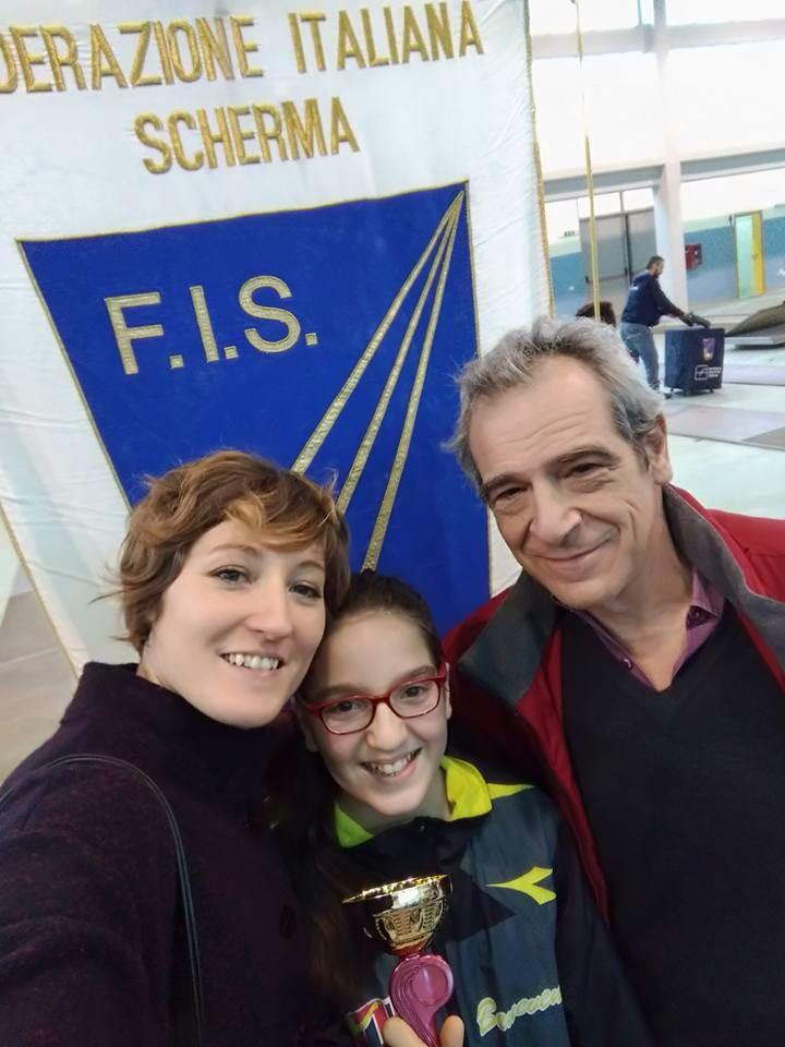 Scherma, campionati regionali: bene giovani dell'Accademia Olimpica Beneventana