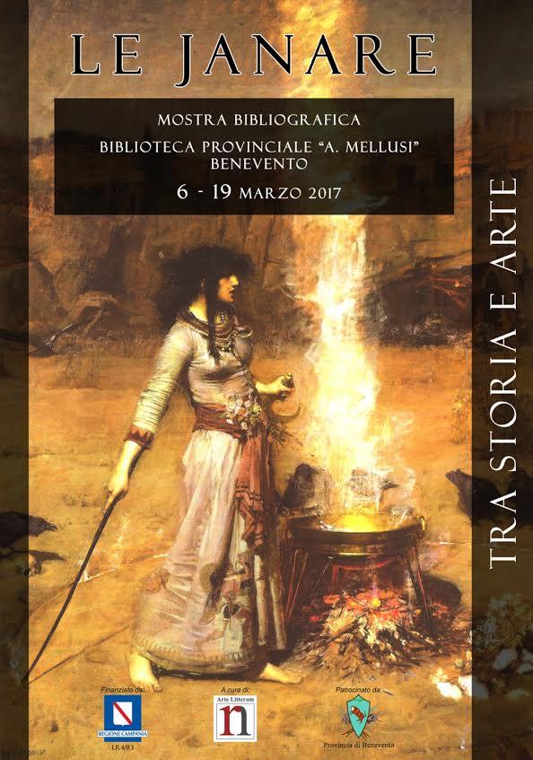 Le Janare in mostra, tra storia e arte, alla Biblioteca Provinciale di Benevento