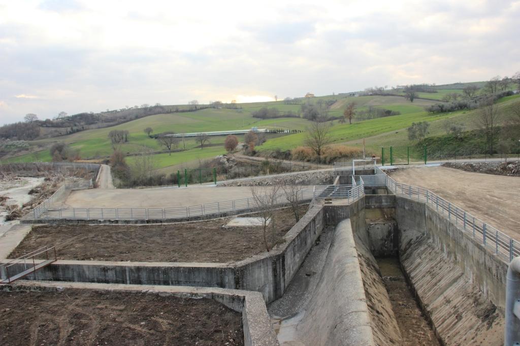 Conclusi lavori di pulizia e bonifica dell'opera di presa sul torrente Tammarecchia