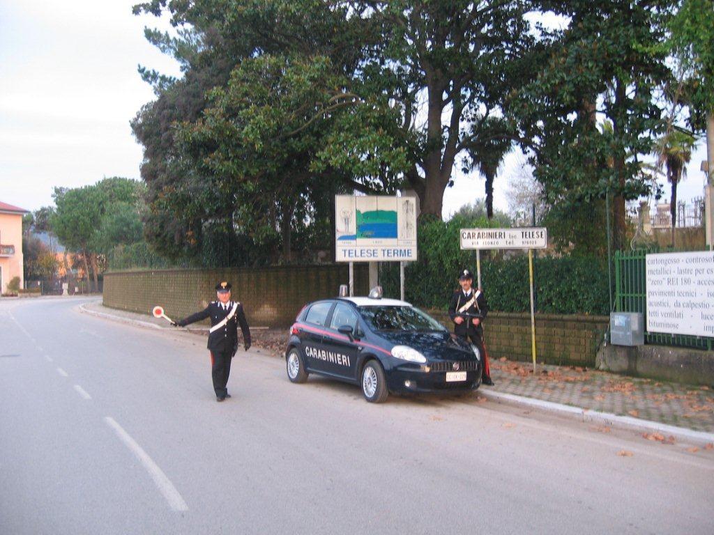 Telese Terme, 27enne arrestato per estorsione in danno alla madre