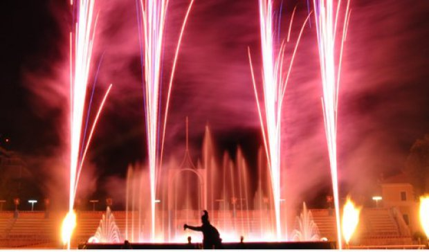 Paupisi, attesa per lo show delle fontane danzanti e fuochi piromusicali