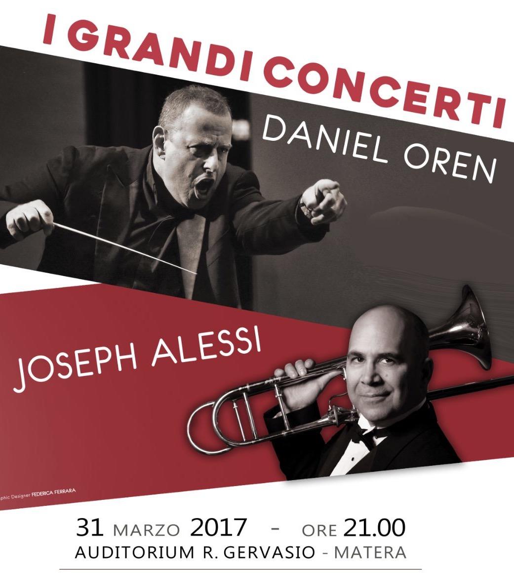 Daniel Oren dirige l'Orchestra Filarmonica di Benevento e il solista Joseph Alessi