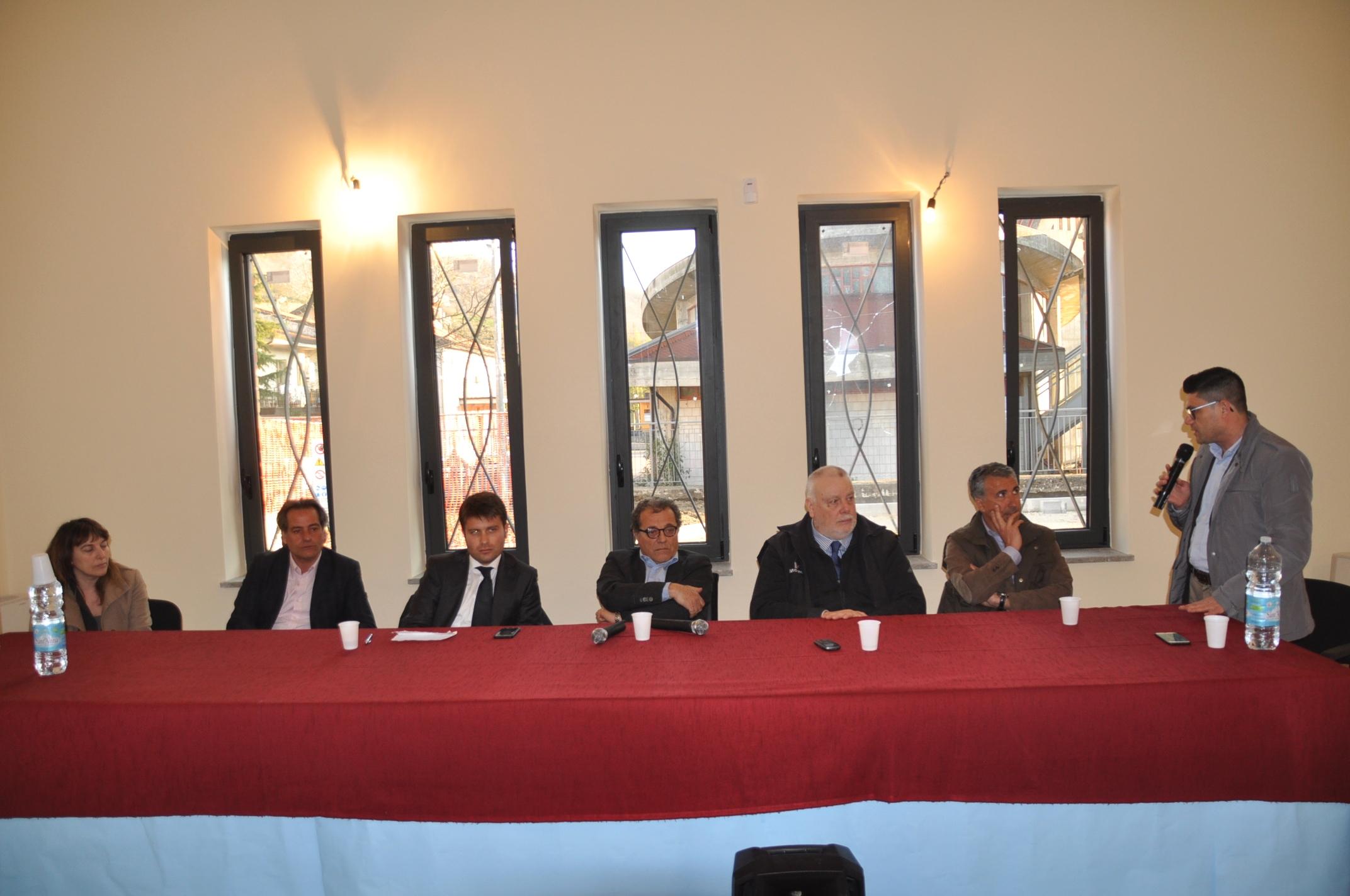 Ricci incontra i sindaci della Valle Caudina