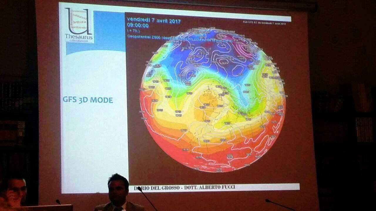 Seminario Meteo e Clima: coinvolto il pubblico di Thesaurus