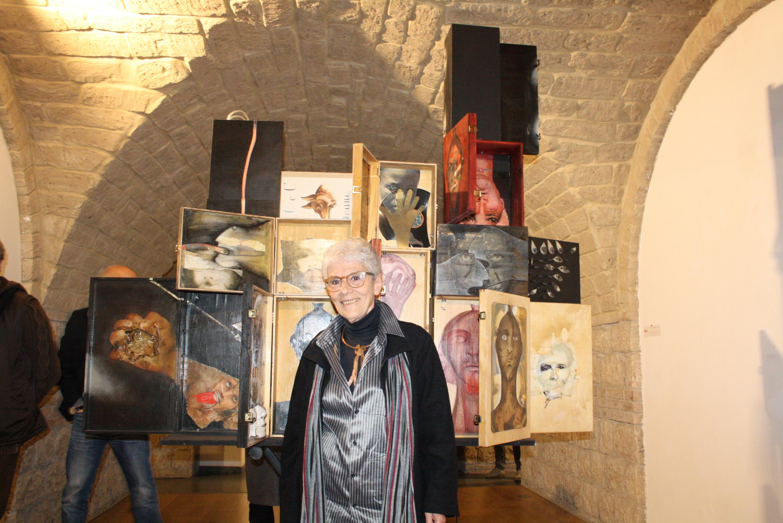 Inaugurata mostra Matarese all'Arcos di Benevento