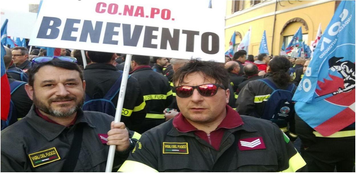 Carenza vigili del fuoco a Benevento: è l'allarme lanciato da Livio Cavuoto