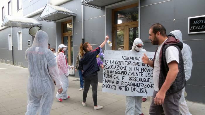 """Conferenza Forza Nuova. L@PASILO31: """"A Benevento sono radicati valori democratici"""""""