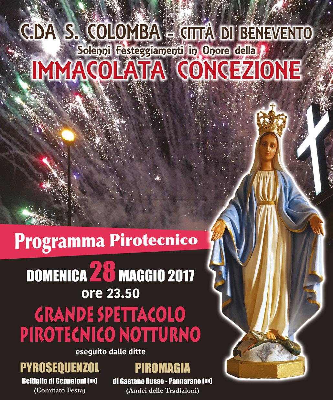 Benevento, al via da domani i festeggiamenti in onore dell'Immacolata Concezione