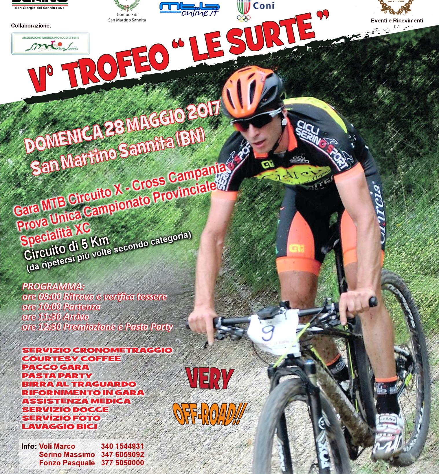 Domenica via al V Trofeo 'Le Surte'