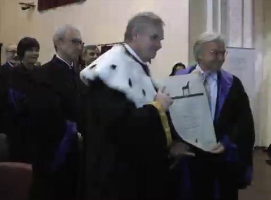 Conferita Laurea Honoris Causa in Economia e Management a Della Valle