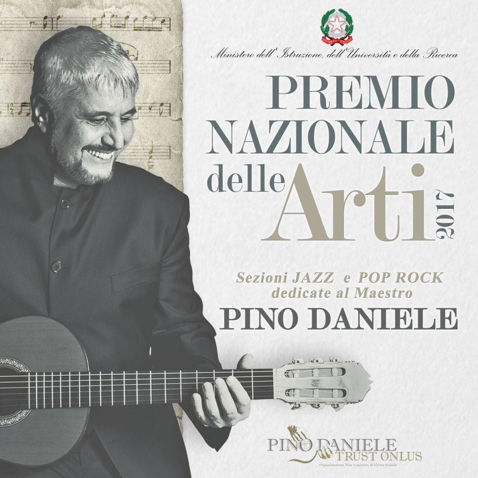 'Premio Nazionale delle Arti' dedicato a Pino Daniele. Il 24 giugno premiata, a Benevento, la sezione pop rock