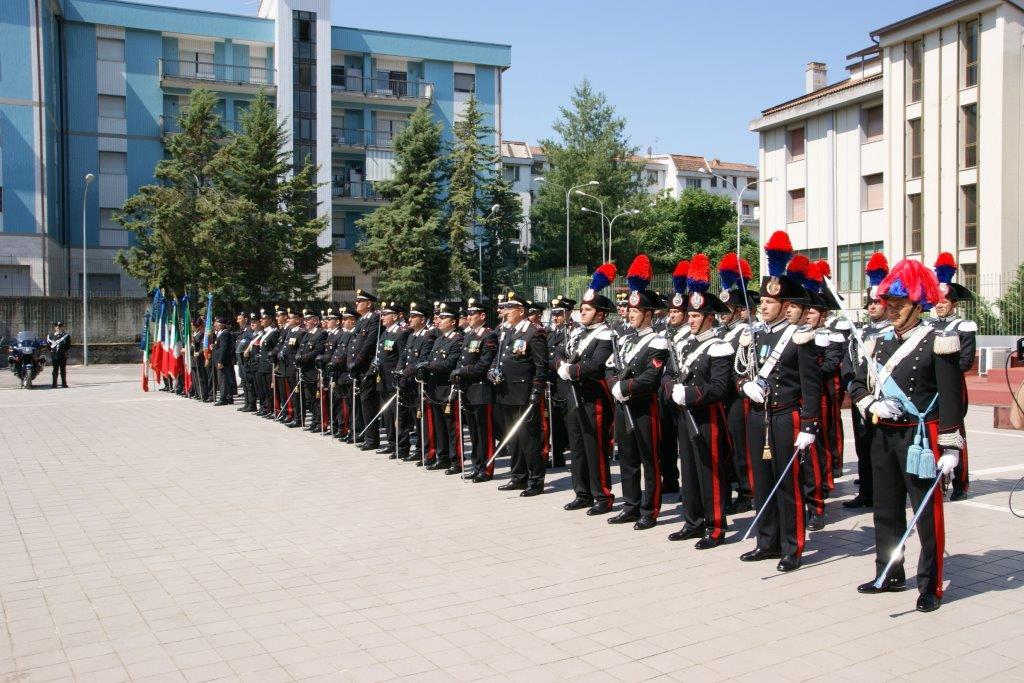 Benevento, domani celebrazione del 203° Annuale di Fondazione dell'Arma dei Carabinieri