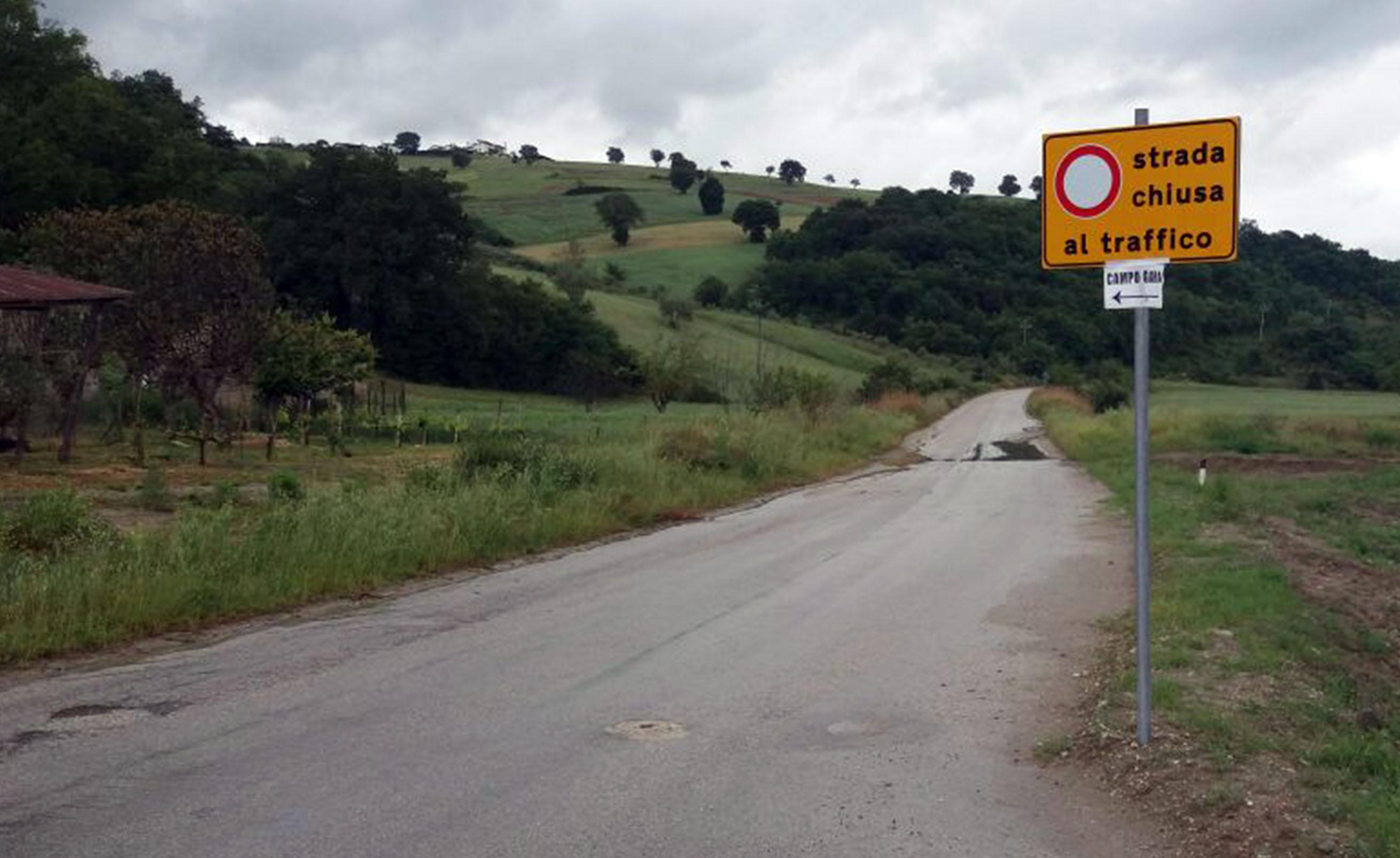 Fondovalle San Giorgio la Molara SS 90 bis e SP 60, manifestazione per attenzionare il problema viabilità