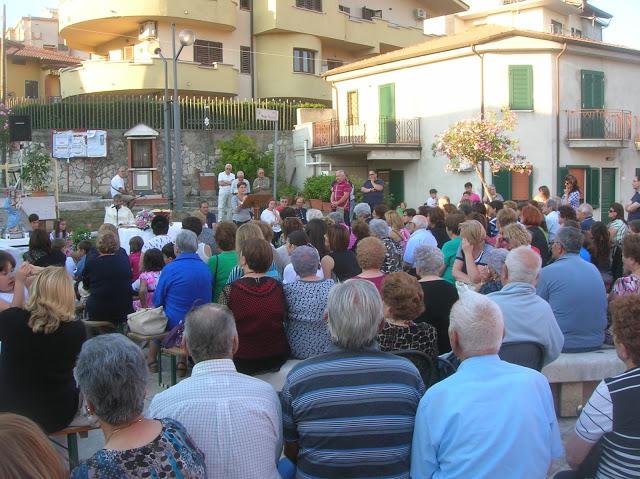 A Ponte si celebra la Festa Madonna delle Grazie. Raccolte offerte per ristrutturare l'edicola votiva