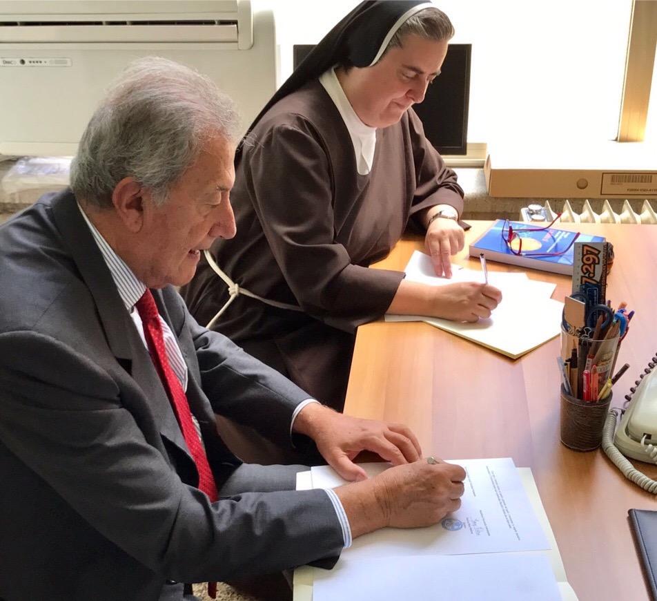 Unifortunato, sottoscritto accordo di cooperazione con Pontificia Università Antonianum
