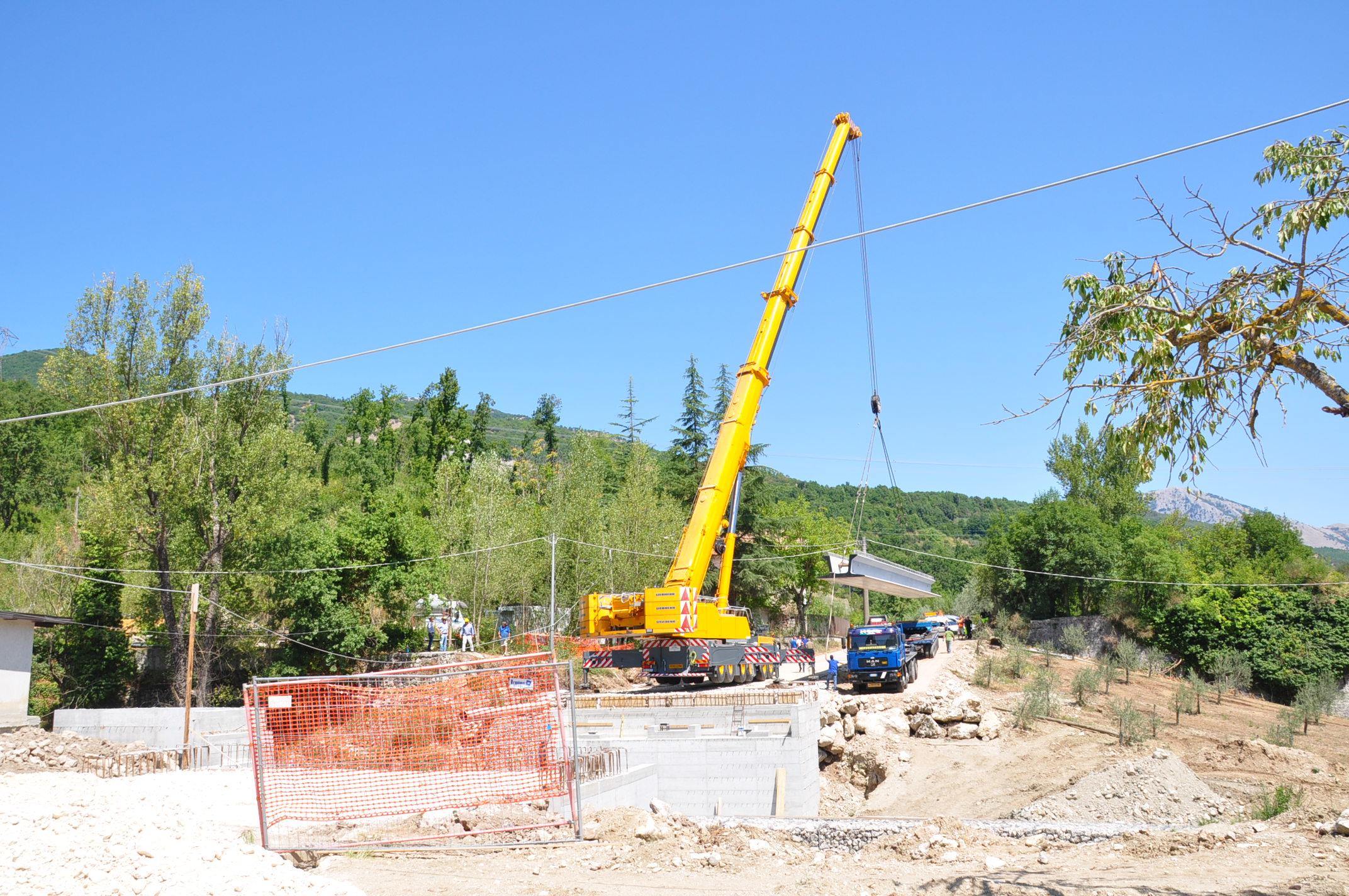 Provincia, al via i lavori del nuovo ponte sul torrente Jenga