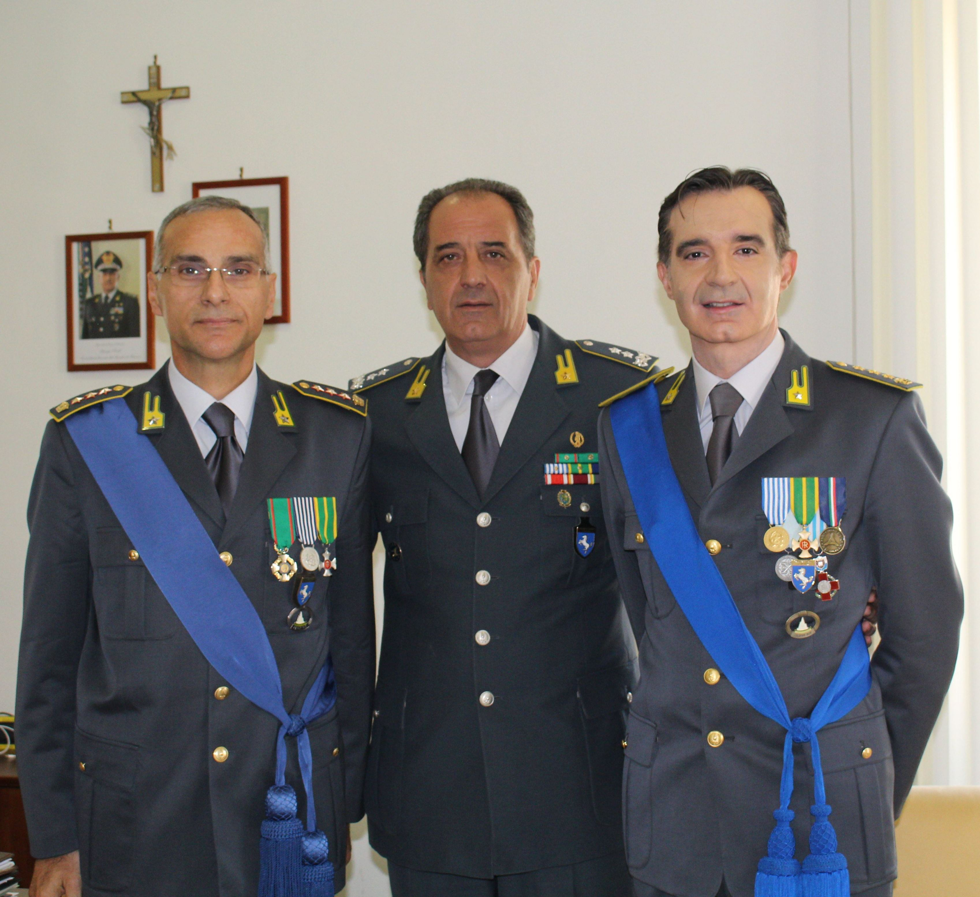 Gdf, avvicendamento al vertice del comando provinciale di Benevento