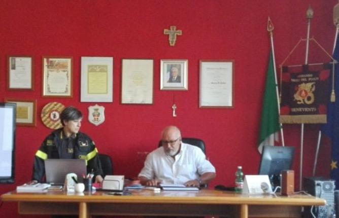 Incendi, Di Tullio (Comandante Vigili del Fuoco): interventi straordinari con mezzi autorizzati dal Ministero