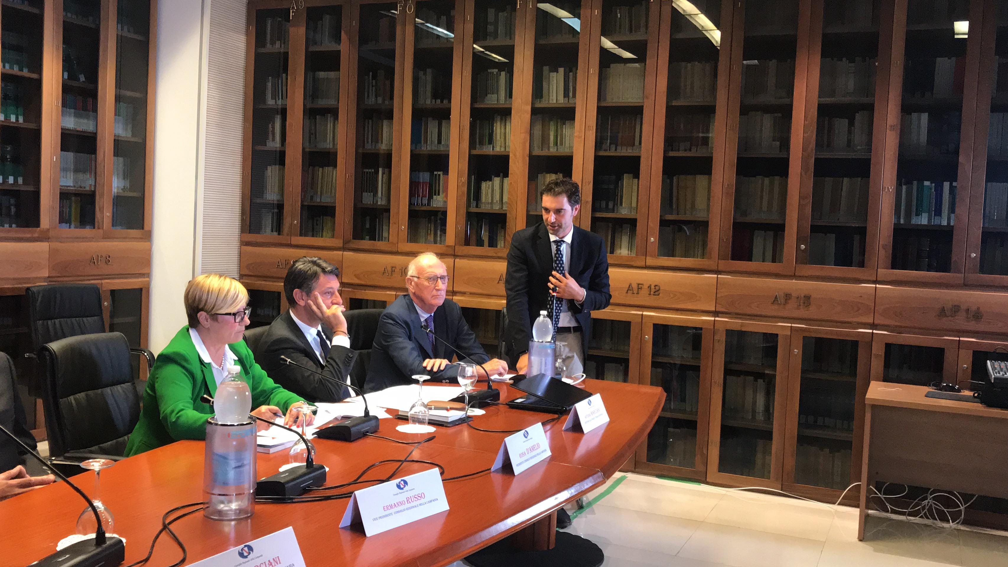 Inaugurata la Biblioteca del Consiglio regionale a Delcogliano